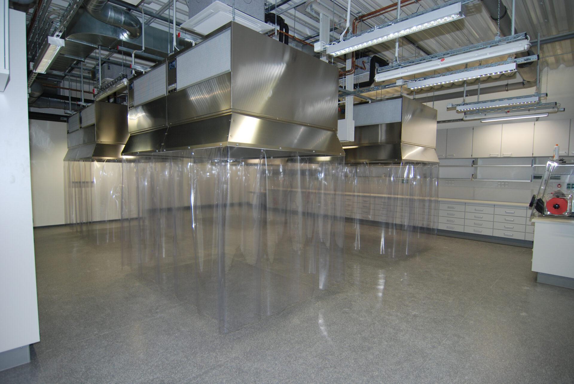 Abgeschirmter Laborraum